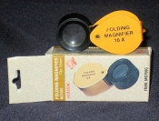 Lens, Magnifier-Folding - 10x   MG750G