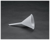 Funnel Poly, long stem, 104mm