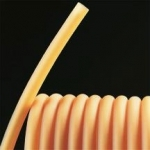 "Rubber Tubing, Amber Natural Rubber, Laytex 1/8""ID / 3/32"" (5/16"") OD/ Ft."