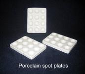 Spot Plate, Porcelain - 12 Cavity