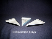 Tray, Examination, Triangular Shape